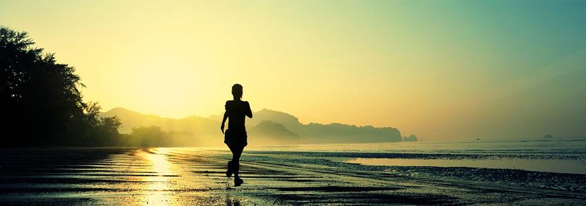 Correr al amanecer