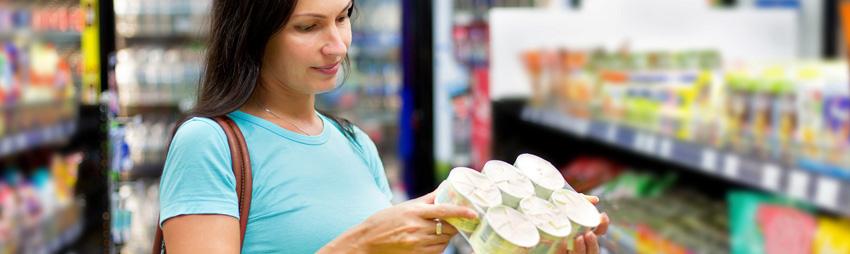 Azúcar en el supermercado