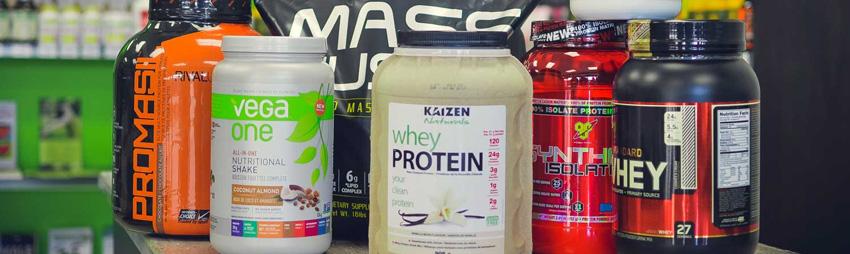 Suplementos proteínicos