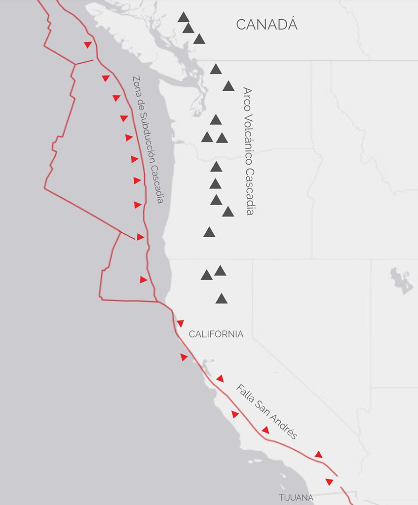 Cascadia:el origen del siguiente gran terremoto