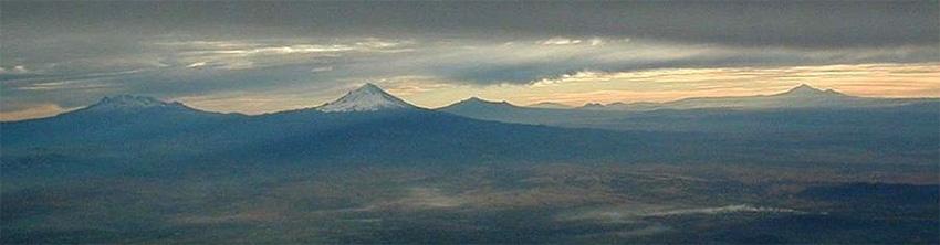 Volcanes del Cinturón Volcánico Trans-Mexicano
