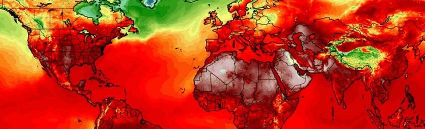 Ola de calor mundial