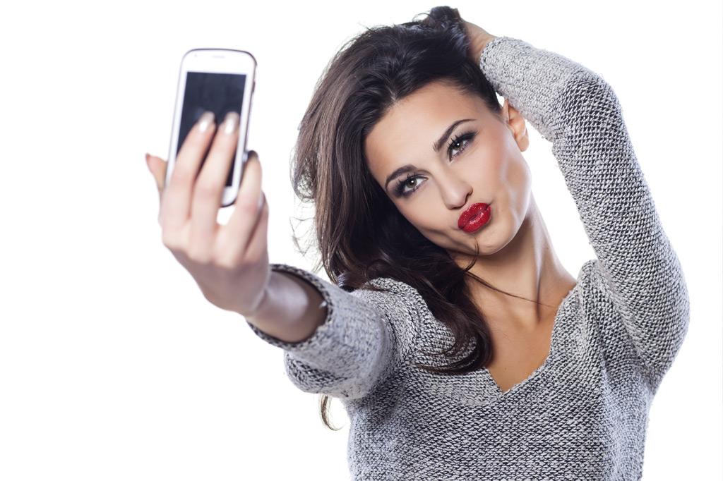 Las selfies son un problema mental